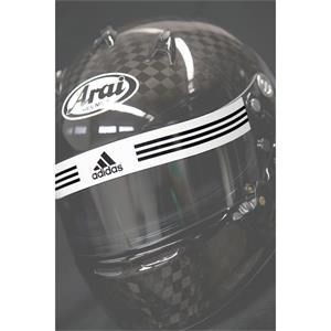 Adidas Visor Strip White/Black