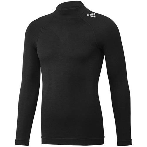 Adidas Techfit Long Sleeve Top Black Medium / Large