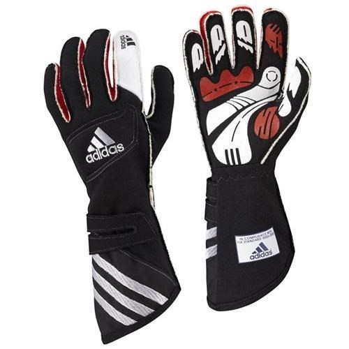 Adidas FIA adiSTAR Gloves Black/Silver Small
