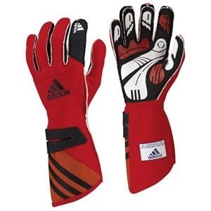 Adidas FIA adiSTAR Gloves Red/Black XSmall