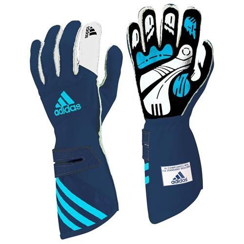 Adidas FIA adiSTAR Gloves Blue/White Small