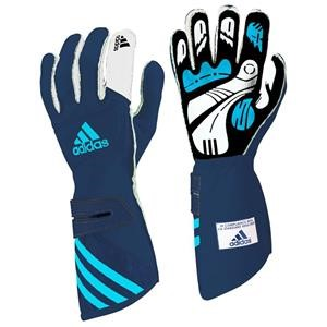 Adidas FIA adiSTAR Gloves Blue/White XSmall