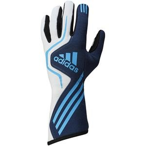 Adidas RS Gloves Navy/White/Blue Medium