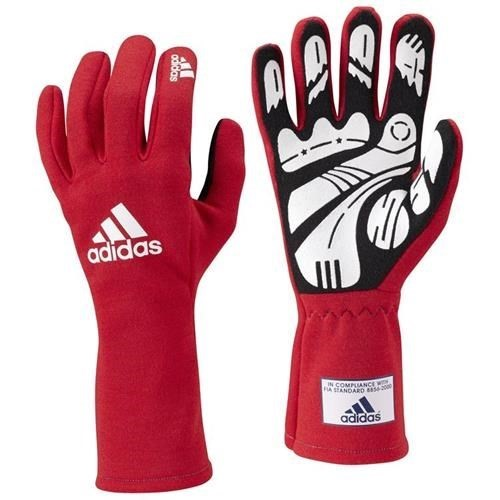 Adidas Daytona Gloves Red Small