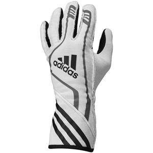 Adidas RSR Gloves White/Black/Red Medium