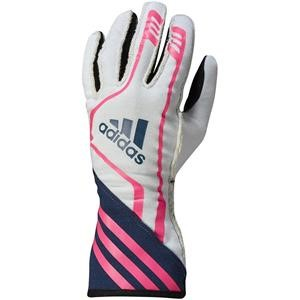 Adidas RSR Gloves White/Navy/Fluo Pink Large