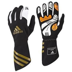 Adidas Kart XLT Gloves Black/Gold XXSmall