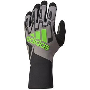 Adidas RSK Kart Gloves Black/Graphite/Fluo Green Large
