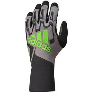 Adidas RSK Kart Gloves Black/Graphite/Fluo Green Large
