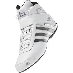 Adidas Daytona Shoe White/Silver UK 6