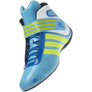 Adidas Kart XLT Shoe Cyan/Electricity/Blue UK 3.5