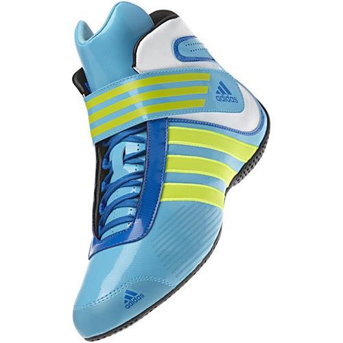 Adidas Kart XLT Shoe Cyan/Electricity/Blue UK 4.5