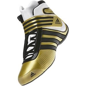 Adidas Kart XLT Shoe Gold/Black/White UK 4