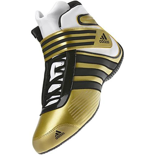 Adidas Kart XLT Shoe Gold/Black/White UK 5.5