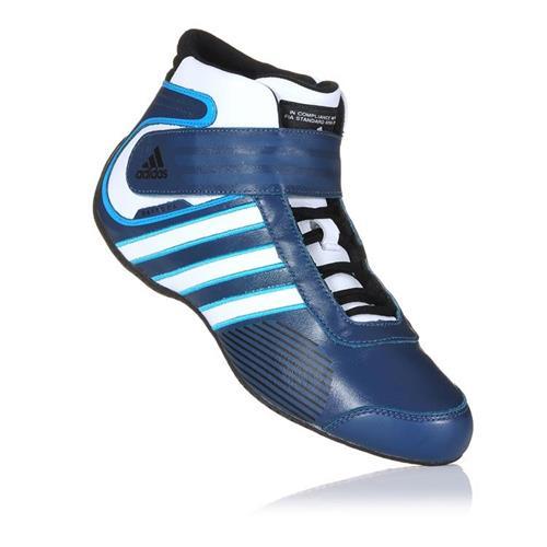 Adidas Daytona Shoe Blue/White/Cyan UK 6.5