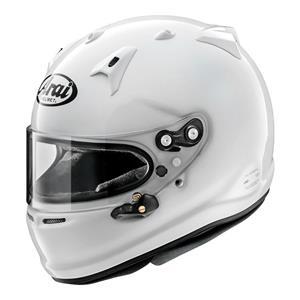 Arai GP-7 FRP Helmet Medium 57-58cm (with M6 washers) White