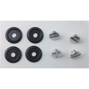 Arai GP-5W & Jet/F Peak Screw Kit - Aluminium