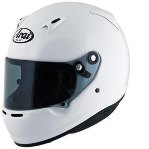 Arai CK-6 Kart Helmet Large 59-60cm White