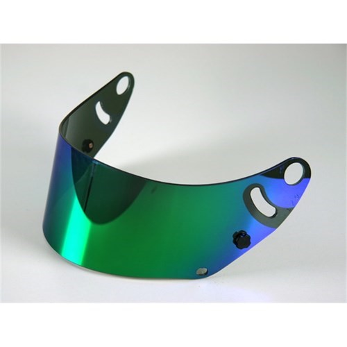Arai GP-6 Shield - Mirror Coating - Green