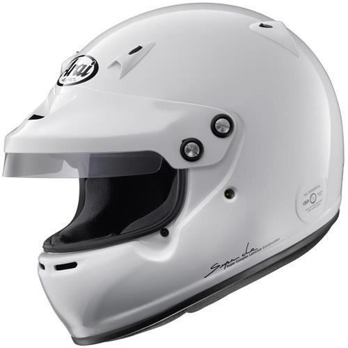 Arai GP-5W Helmet XSmall 53-54cm (with M6 washers) White