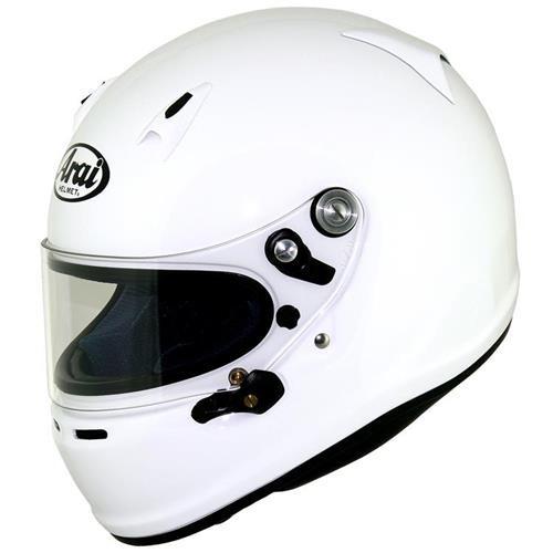 Arai SK-6 Kart Helmet Large 59-60cm White