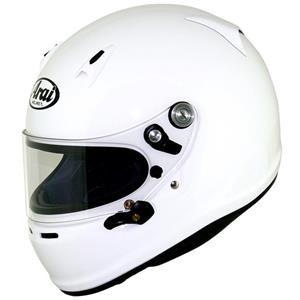 Arai SK-6 Kart Helmet XLarge 61-62cm White