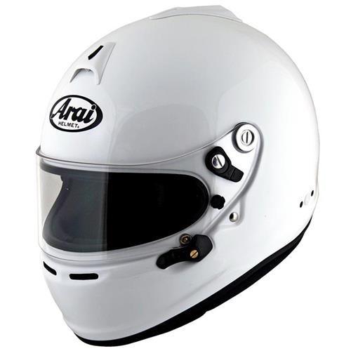 Arai GP-6S Helmet Large 59-60cm (with M6 washers) White