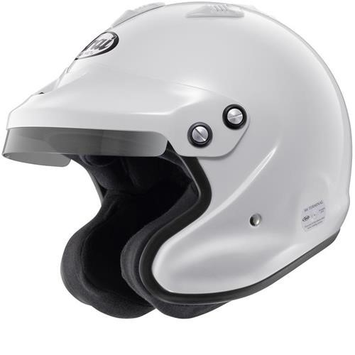 Arai GP-JET/3 Helmet Large 59-60cm (with M6 washers) White