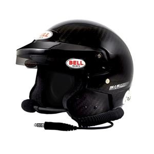 MAG9 RALLY CARBON 61+ (7 5/8 PLUS)  (HANS) BELL HELMET