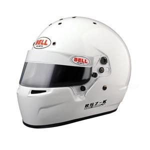RS7-K WHITE LRG (60-61) K2015 BELL HELMET