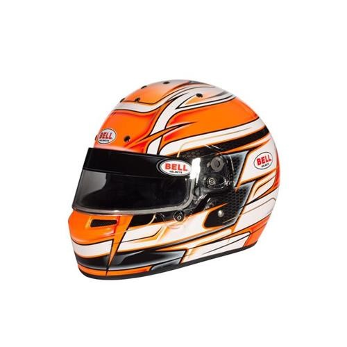 KC7-CMR VENOM ORANGE 56 (7) CMR2016 BELL HELMET