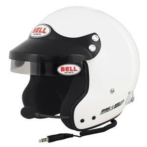 MAG1 RALLY (HANS) WHITE MED (58-59)  BELL HELMET