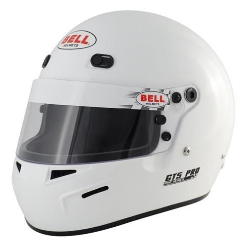 GT5 PRO HANS White MED (58-59) BELL HELMET SNELL 2010