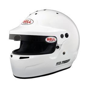 GT5 Touring HANS White SML (57-58) BELL HELMET