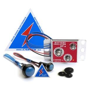 Cartek Battery Isolator GT Kit (Blue Ext. Button)