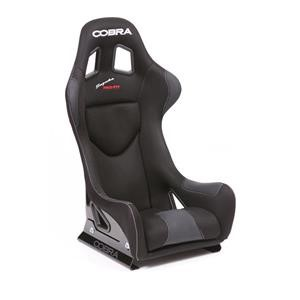 Cobra Suzuka Pro GRP Seat - Black Spacer Fabric all over