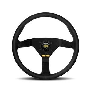 MOMO Mod 78 320mm Black Suede Steering Wheel