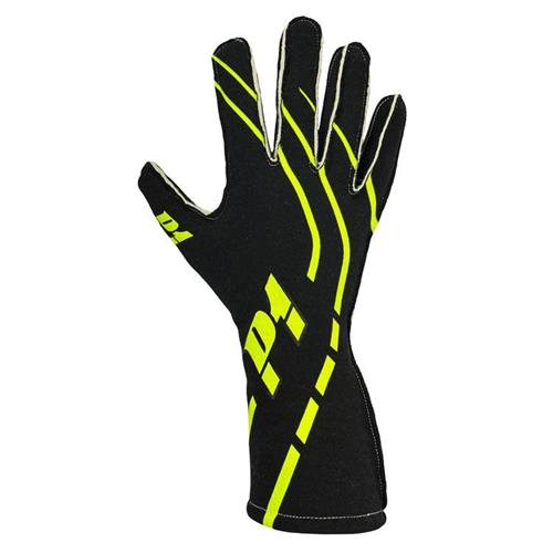 P1 Grip2 Gloves Black - Size 8