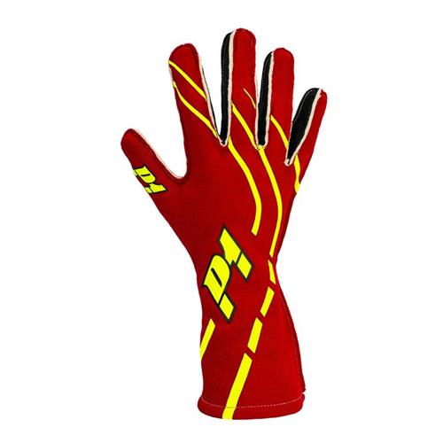 P1 Grip2 Gloves Red - Size 8