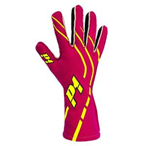 P1 Grip2 Gloves Fuchsia - Size 6