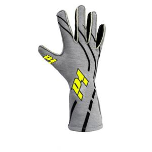 P1 Grip2 Gloves Silver - Size 8