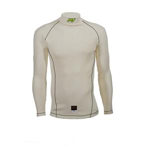 P1 Top Slim Fit Aramidic White - Large
