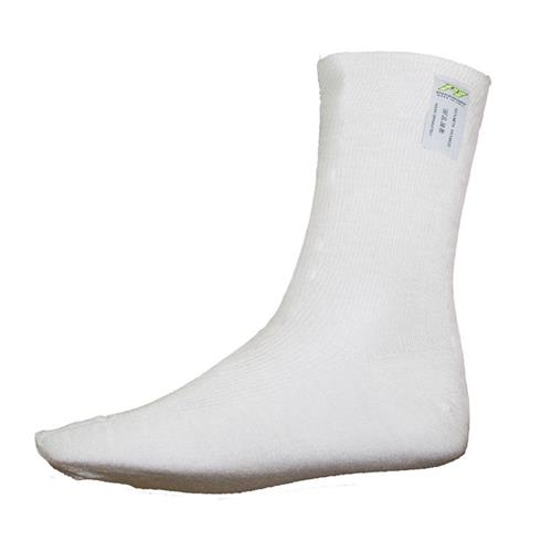 P1 Short Socks Aramidic White - Medium