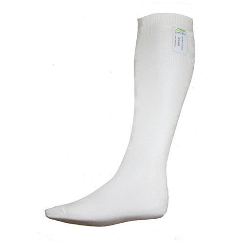 P1 Long Socks Aramidic White - Large