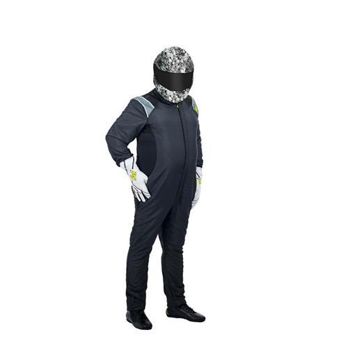 P1 Racesuit RS-Plus Black - Size 6