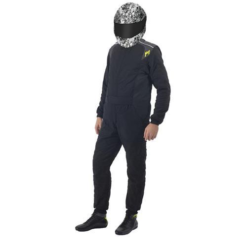 P1 Race Suit Smart Passion Black - Size 3