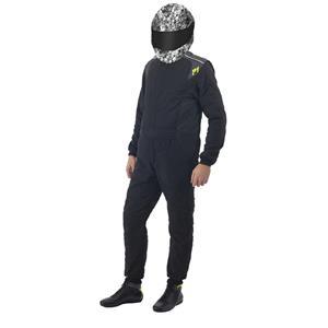 P1 Race Suit Smart Passion Black - Size 4