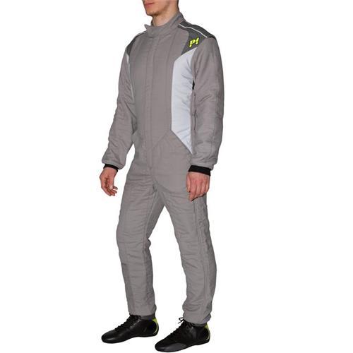 P1 Race Suit Smart-X3 Grey/Silver - Size 5