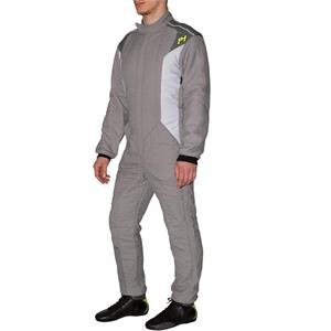 P1 Race Suit Smart-X3 Grey/Silver - Size 7