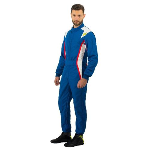 P1 Race Suit Turbo Royal Blue/White/Red - Size 4